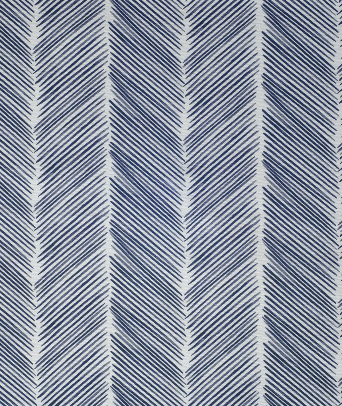Etta Herringbone Fabric Blue Occipinti
